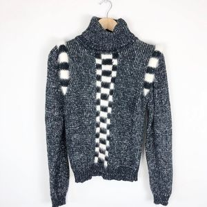 Vintage Statement Turtleneck Sweater